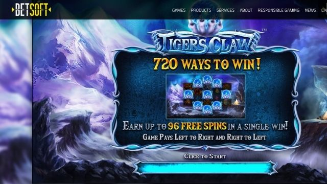 best Bitcoin slot tiger's claw